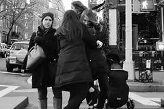 hug and a shake (omoo) Tags: newyorkcity girls bw westvillage streetscene hugs crosswalk goodbyes girlfriends greenwichvillage embracing hudsonstreet bwphotograph philipmarie dscn0441 hugginggirls west11thandhudson hugandtusslegoodbye girlfriendsafterlunch hugandashake hugandshake embracinggirls awkwardembrace
