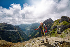 Age is just a number (NIOphoto.) Tags: street old portrait sun man mountains clouds hair landscape photography grey nikon hiking walk style tokina age pico madeira struggle arieiro