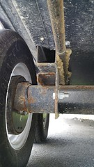 Torsion axle (JD and Beastlet) Tags: travel family camping camp vacation foot slide together vehicle trailer rv 27 camper 2012 recreational rockwood 2701ss