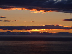Gamrie Bay 9 (Saf37y) Tags: sunset sea clouds coast scotland aberdeenshire seashore morayfirth gardenstown gamriebay