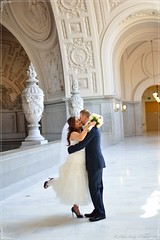 Wedding Day Light! (Little Italy Photography) Tags: sanfrancisco ca flowers architecture groom bride nikon cityhall dome weddings ornate statures sanfranciscocityhall nationalregisterofhistoricplaces nikondigitalslr nikon35mmf18gafsdxlens nikond7100 1carltonbgoddlettplace