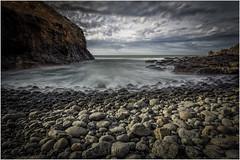 Cape Schanck (RissaJT_23) Tags: ocean longexposure sky cliff water clouds canon rocks tide australia victoria australianlandscape morningtonpeninsula capeschanck canon1740mm canon6d canoneos6d