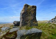 The Aiggin Stone (rustyruth1959) Tags: stone nikon cross outdoor yorkshire medieval lancashire latin moors waymarker carvings milestone romanroad nikond3200 blackstoneedge aigginstone