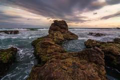 (www.mjbrownphotography.com) Tags: ocean sea sky seascape colour nature water clouds coast nikon rocks waves australia tokina