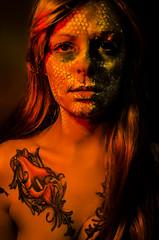 Tallows 5 (Jef Harris) Tags: portrait colorful patterns ottawa makeup muse mua homestudio creativemakeup ottawamodel