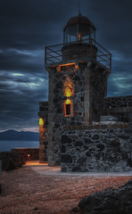 Monemvasia 2016 the return (I) (Yiannis Chatzitheodorou) Tags: nightphotography lighthouse night hdr monemvasia peloponnese canoneos5dmarkii