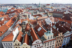 Prague, Czech Republic (DitchTheMap) Tags: above street old city houses roof red party people urban house building tower heritage beautiful architecture buildings square landscape town hall europe flickr european cityscape republic view czech prague top background famous cities praha landmark scene aerial medieval historic czechrepublic historical easterneurope 2016