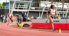 DSC_2489 (Adrian Royle) Tags: people field sport athletics jump jumping nikon track action stadium running run runners athletes sprint throw loughborough throwing loughboroughuniversity loughboroughsport