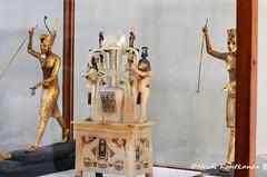 Treasures of Tutankhamun (konde) Tags: wood art statue gold vase papyrus 18thdynasty valleyofthekings ancientegypt tutankhamun cartouche hapi redcrown alabaster tutankhamon newkingdom kv62