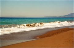 Rhodos coast 01 (Katarina 2353) Tags: summer seascape film landscape nikon europe peace hellas greece rhodes rhodos katarinastefanovic katarina2353