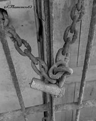 ataduras (Flamenco61) Tags: puerta cadenas oxido prision antiguo carcel preso ataduras candados eslavones