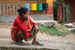 Taking a Break (Mark S Weaver) Tags: kathmandu nepa