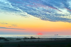 Misty Morning (melliottohaire) Tags: sunrise fort jersey hancock sandyhook