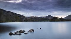 Grasmere (Kevin.Grace) Tags: grasmere uk england lake sunset rocks landscape couds long exposure