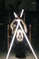 Tubular lights IV (n4i.es) Tags: canon model chair upsidedown makeup lingerie canon5d brunette 2016 pinklips creativelighting fluorescenttubes blacklingerie blackbodysuit n4i n4ies anagarciadedueñas greeneyes2016anagarciadedueñassaragonzálezbabydollbodynegroscamacasachimeneaclavebajafluorescenteslabiosrojoslencerialencerianegralucesnavidadmaquillajemorenamueblessesióntubosjerezdelafronteracádizspain