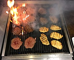 Flame Broiled (Joseph Cerulli) Tags: chicken burgers americanfastfoodstories