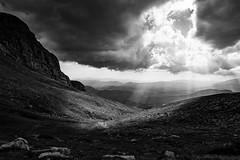 A Ray Of Light (Christophe_A) Tags: bw cloud mountain greek nikon skies greece filter nd 20mm christophe grad hoya d800 epirus zagori astraka tymfi christopheanagnostopoulos christopheanagnocom