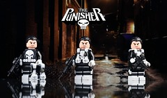 Classic Punisher (McLovin1309) Tags: punisher classic comic book character custom lego minifigure