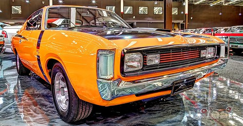 1971 Orange 265ci Six Cylinder Valiant Charger R/T E49, Gosford Classic Car Museum