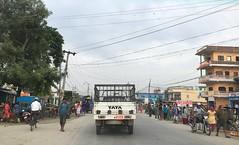 Road to Biratnagar (The Advocacy Project) Tags: travel nepal people cars metropolis biratnagar