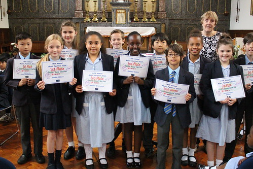 Upper KS2 music festival winners