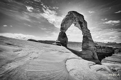 Delicate Arch (JAKE PINEDA) Tags: park white black utah nikon arch arches national moab nikkor delicate f28 hdr 1424 d810