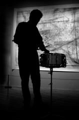 Charles Hayward (Emma McNally1) Tags: drumming hayward rhythm haywardgallery spacetime sounding charleshayward mirrorcity emmamcnally 30minutesnaredrumroll choralfields rhythmicstatechange