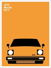 Print (Montague Projects) Tags: 1978 mazda rx7 japanesedesign carposter