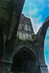 Monastero Valle CHRISTI,un giorno di pioggia (maxphotography81) Tags: color landscape nikon torre monumento rapallo liguria chiesa campanile pietre mura monastero d800 archi suore maxphotography goticoromanico cistercese