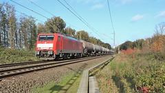 DBS 189 073 met een ketelwagentrein. (twenterail) Tags: dbs ef64f4