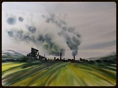 PAYSAGE D USINE (notte.martha) Tags: paysages cockerill seraing smoog usines fumees