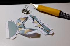 Paper Jaeger Project 1 (phnrested) Tags: 35mm paper robot fuji pacific desk fujifilm jaeger rim eureka mech xacto papercraft striker x100 23mm apsc x100t fujifilmx100t fujix100t