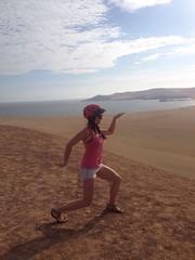 Tour de vélo dans les dunes de sable de paracas