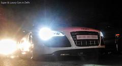 Audi R8 V10 (Arsalan's Photography) Tags: black project mercedes martin delhi continental spyder porsche bmw rolls spotted jaguar gt carbon phantom m3 mumbai audi lamborghini rare exclusive supercar v8 royce bentley maserati aston matte amg exotics supercharged r8 xkr rapide supercarsinnewdelhi indiasupercarinindialuxuryexoticrare