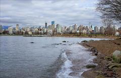 Waves (Clayton Perry Photoworks) Tags: winter canada beach skyline vancouver bc explorebc explorecanada