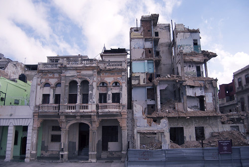 Dilapitated Malecon Buildings, Havana
