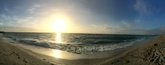 South Beach sunset (Figgles1) Tags: sunset panorama beach south southbeach iphone img5651
