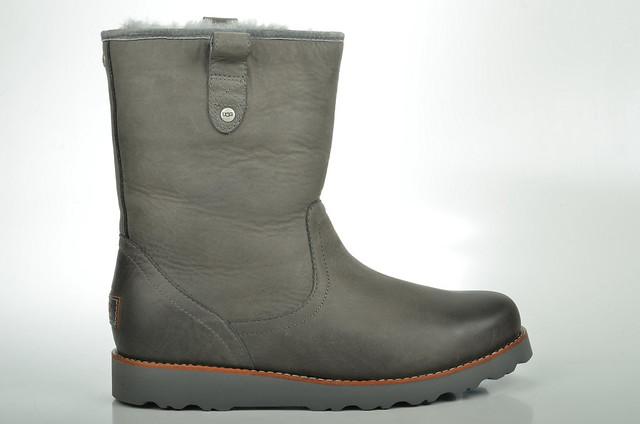 metal boot grau australia stoneman ugg lammfell gefüttert uggaustralia 1001594 kalbsleder herrenbootsgefüttert