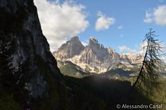Montagne baciate dal sole