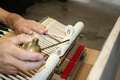 Reperatur des Steinways 2014