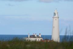 St. Mary's Lighthouse - Whitley Bay (Ulli J.) Tags: uk greatbritain lighthouse unitedkingdom phare vuurtoren fyr leuchtturm whitleybay tyneandwear oldhartley royaumeuni storbritannien vereinigtesknigreich grootbrittanni verenigdkoninkrijk grosbritannien
