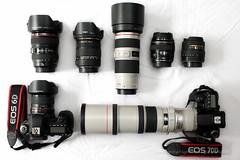 My Canon gear 2014 (gc232) Tags: camera new slr ex glass modern canon lens is photographer angle body 14 wide 85mm sigma gear os fisheye tokina syndrome equipment 400 l setup 28 1855mm 1855 f56 f18 dslr 18 85 ultra 70200 f28 ef f4 recent bodies 1017 lenses 70200mm 2014 acquisition 24105 400mm uwa 10mm 2015 lenshood 14mm 24105mm 24105l lglass slrs samyang 1017mm ef400mmf56lusm dslrs 1750mm canon24105 sigma1750 canon6d sigma1750mm 1000d canon70d