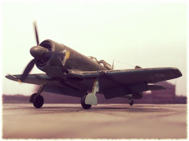 1:72 FMA I.Ae.26 Aguja, aircraft C-25 of Grupo 1 de Caza del Comando Aereo de Defensa, Fuerza Aerea Argentina; El Plumerillo AFB, Mendoza/Argentina, 1948 (Whif/Kitbashing)