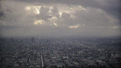 Griffith Observatory (Jason Scheier) Tags: ca sky storm rain misty clouds los angeles dramatic observatory griffith