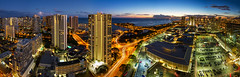 Ala Moana Center Dusk Pano (Shabdro Photo) Tags: hawaii oahu alamoanacenter shabdrophoto