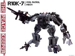 R10K-7 Alternate Pose 1 (burningblocks) Tags: lego military scifi mech