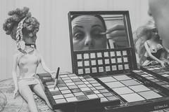 pressure of society (Ines_Inka) Tags: selfportrait barbie makeup pressure society sarcasm psychology