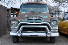 Santa Fe - 1955 GMC 100 Truck (Drriss & Marrionn) Tags: travel usa newmexico santafe cars roadtrip classiccars vintagecars allxpressus