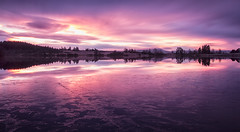 Pink Rusky (J McSporran) Tags: reflection clouds reflections dawn scotland peaceful calm trossachs rusky lochrusky