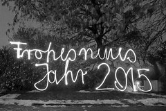 Frohes neues Jahr (lukasmeyer46) Tags: light night painting neujahr happynewyear